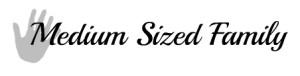 Medium Sized Family Blog