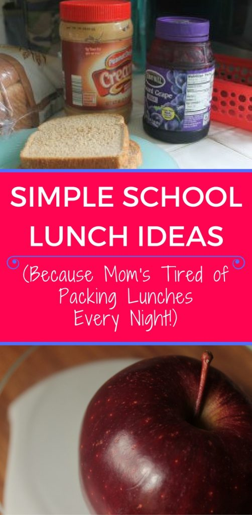 These simple school lunch ideas will make it easier to pack a lunch than ever! Plus there's a free printable...who doesn't love that??