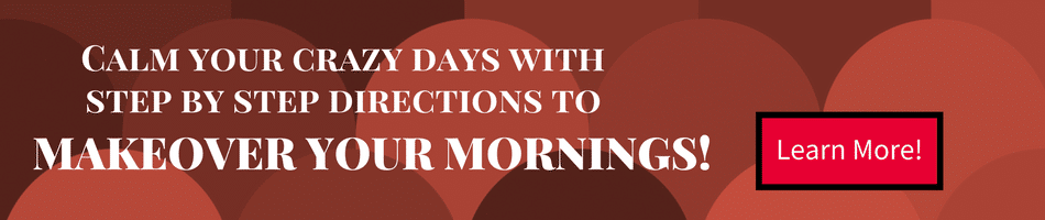 Learn how to makeover your mornings