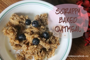 scrappy baked oatmeal