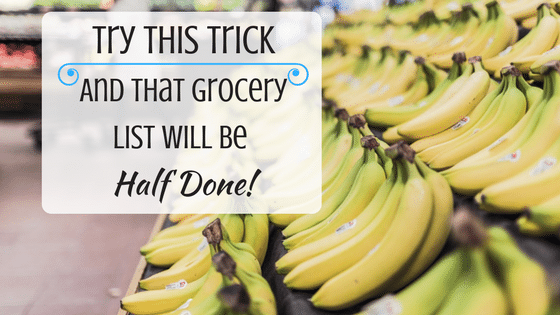 You'll Be On the Ball With This Free Grocery List Template
