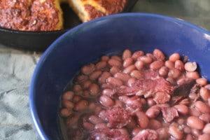 Crock Pot Ham & Beans