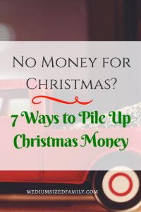 I'm so tired of putting Christmas gifts on a credit card. These ideas are actually doable, so you can put together a Christmas savings account ahead of time.