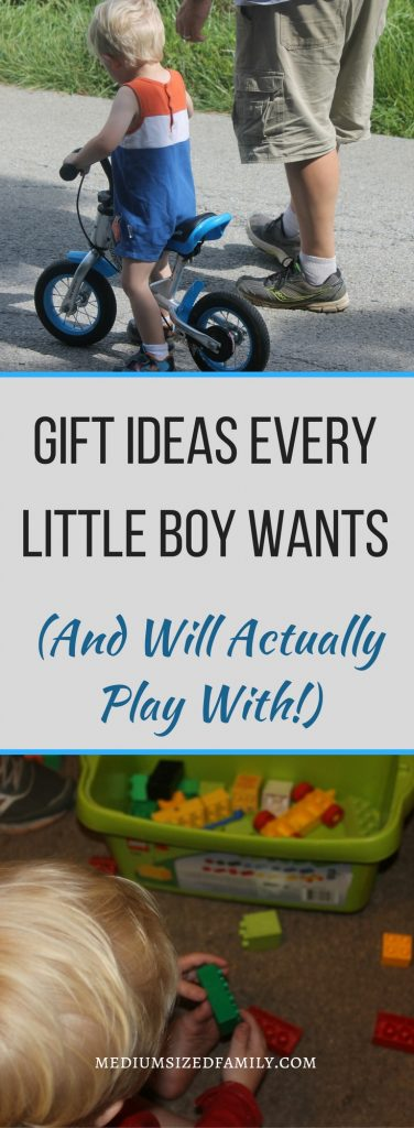 Gifts for boys they're going to love for a long time!