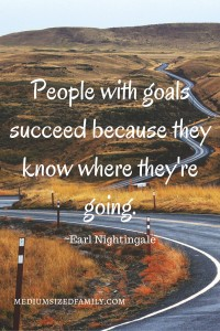 People with goals succeed because they know where they're going.