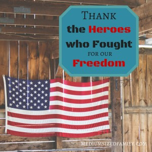 Thank the Heroes Who Fought for Our Freedom