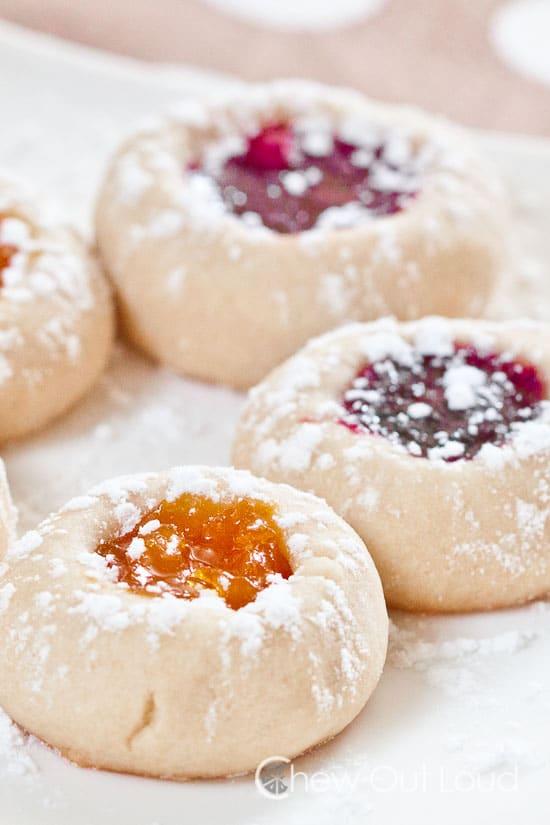 Buttery Jam Thumbprints recipe