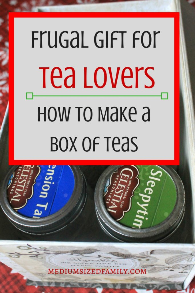 This easy DIY Christmas gift in a jar is perfect for women who love tea! Give the cozy gift of comfort this year.