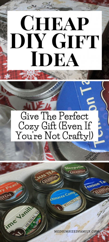 This cheap DIY gift idea is the perfect Christmas gift for people who aren't creative or crafty. A fun gift you can make yourself.