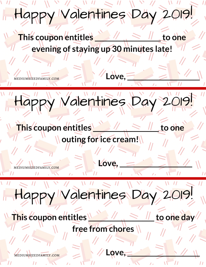 Valentine's Day for kids These fun free printables will make the day special for your children!