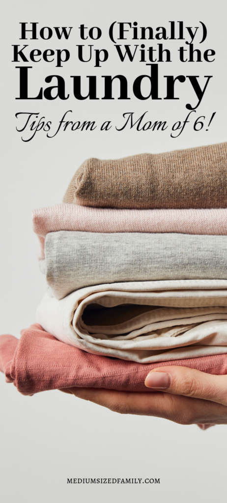 These tips will help you keep up with laundry (finally!)