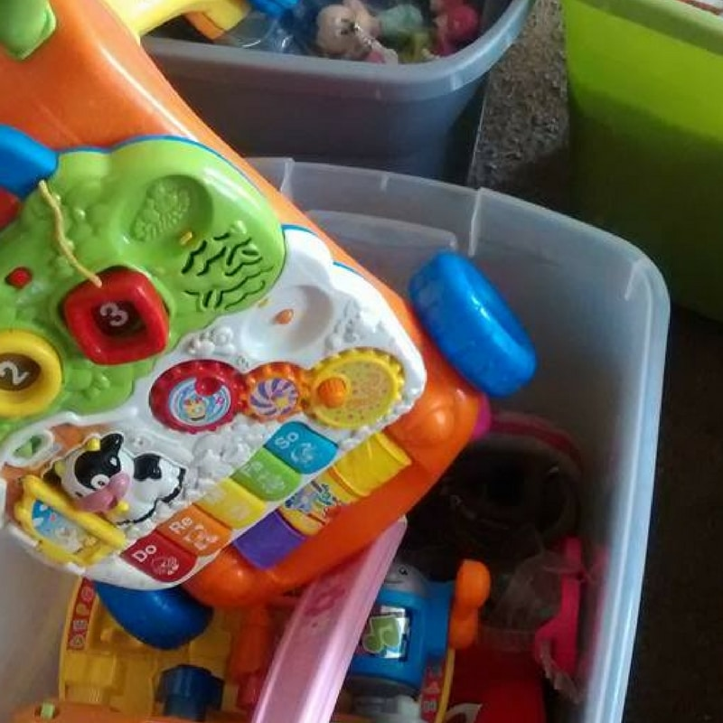 How to get kids to clean up toys without losing your mind.