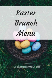 Easter Brunch Menu: Looking for brunch ideas or breakfast ideas for Easter? Give these a try.