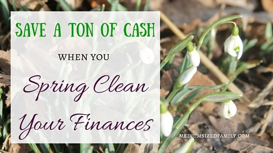 Spring Clean Your Finances and Save the Money for Fun