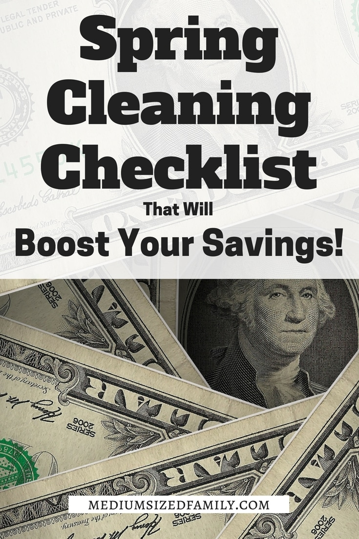 This is one spring cleaning checklist that you don't want to skip. This list will clean up your budget and save money.