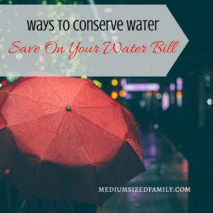 Conserve water and save big on your bill with these water saving tips.