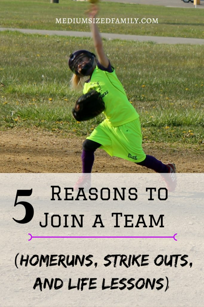 The importance of sports in life and good reasons to sign your kids up for a team.