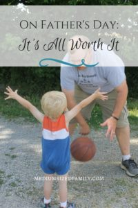 On Father's Day and every day, it's all worth it. Read about what makes it all worth it for this Daddy. Then share your own story about those special parenting moments for the chance to be featured with #GrowingUpGerber.