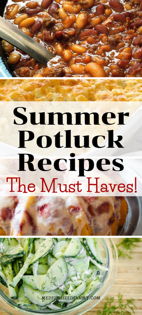 These easy summer potluck recipes are must haves for any good party or gathering!