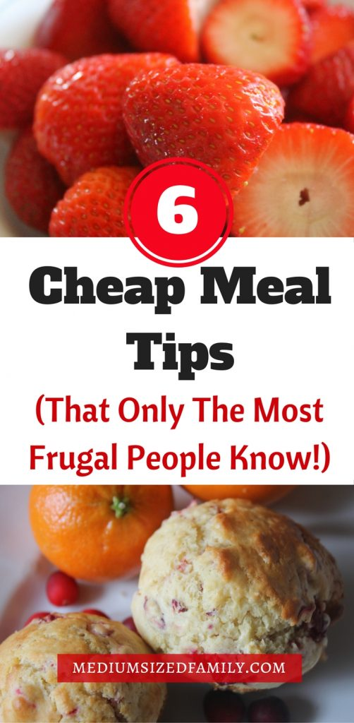 These cheap meal tips will stretch your grocery budget more than ever! Do you already use all of these ideas?