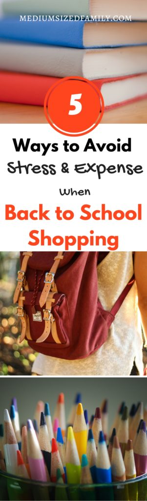 These tips for saving money on back to school shopping are going to save me a ton of cash...not to mention my sanity!