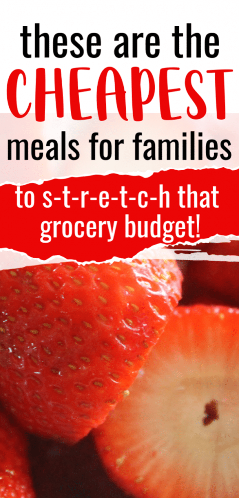 These are the cheapest meals for families. Frugal meals to serve your family. The cheapest meals to make or to serve ever. Prep and plan ideas so you can feed a crowd. easiest meals possible for big families. Cheapest meals ever, budget meals for large families. Cheapest meals to cook for kids simple recipes for large groups. Cheapest recipes you can make.