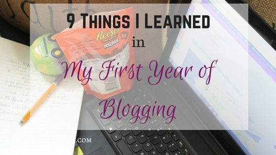 9 Things I Learned in My First Year of Blogging