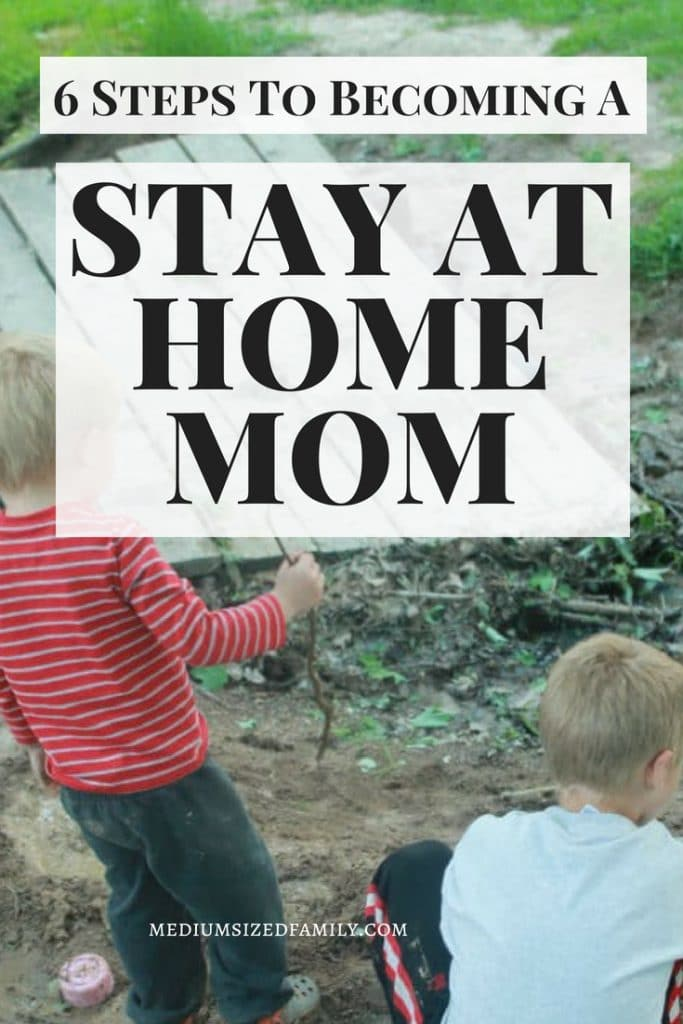 Becoming a stay at home mom is a dream for many mothers.  If you want to be a sahm, these tips will help you find the money so you can build a life with your children and leave the rat race. #parenthood