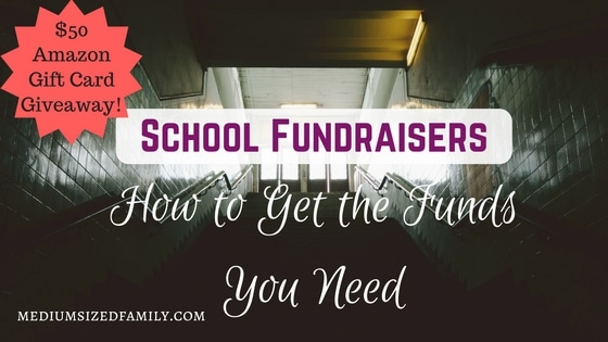 School fundraisers: How to get the funds you need. Plus a giveaway!