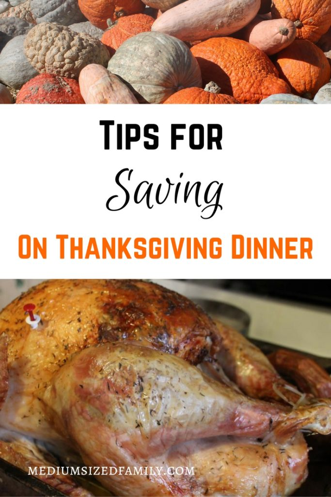 Tips for Saving on Thanksgiving Dinner