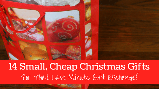 Christmas Gift Exchange Ideas.14 Small Cheap Christmas Gifts For That Last Minute Gift