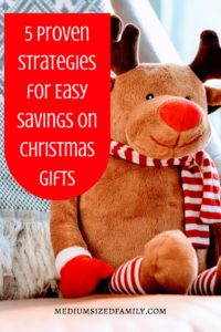 Need some strategies for saving on Christmas? Here are 5 tried and true ways to stretch your Christmas budget this year.