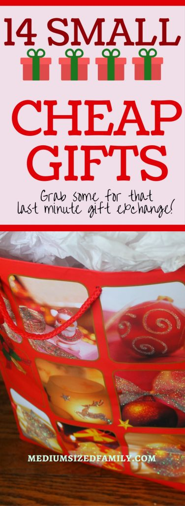 These small cheap Christmas gifts are great to have on hand for last minute giving!