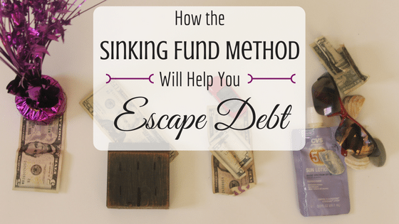 How the Sinking Fund Method Will Help You Escape Debt