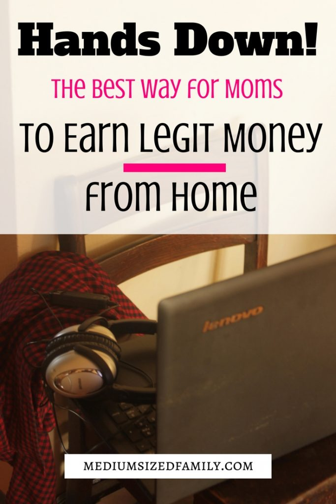 This legitimate work from home job is perfect for Moms! You can earn a real paycheck from home, and these steps will get you off to a good start.