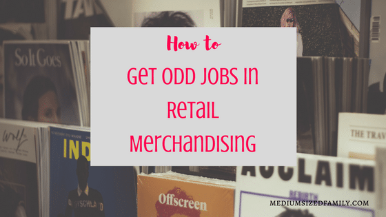 Secure Your Savings: How to Get Odd Jobs in Retail Merchandising