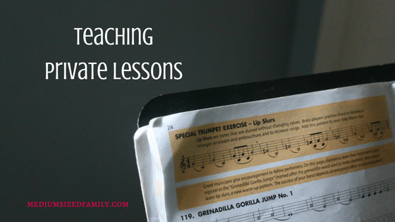 Secure Your Savings: Teach Private Lessons