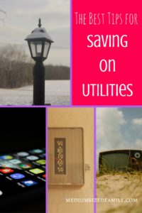 "The Best Tips for Saving on Utilities. Utilities are a bill that is never ""paid off"", so it's important to find tips for saving on utilities. These ideas aren't hard to try if you aren't afraid to try something new."