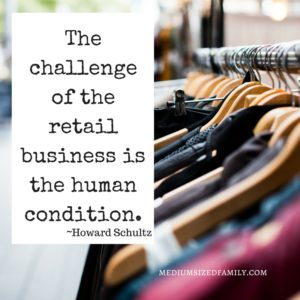 The challenge of the retail business is the human condition.