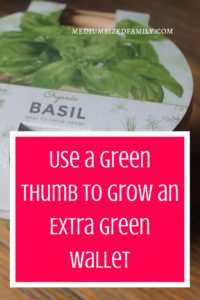Use a Green Thumb to Grow an Extra Green Wallet. You can make money gardening even if you don't consider yourself a gardener. Simple way to make a few bucks...and don't worry. Your customers will love it, too!