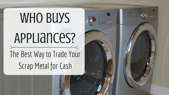 The Best Way To Sell Your Broken Appliances For Cash
