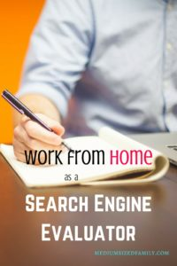 Get a work at home job as a search engine evaluator. This post shows you how to do it and what to expect from this job. Great for wahm!