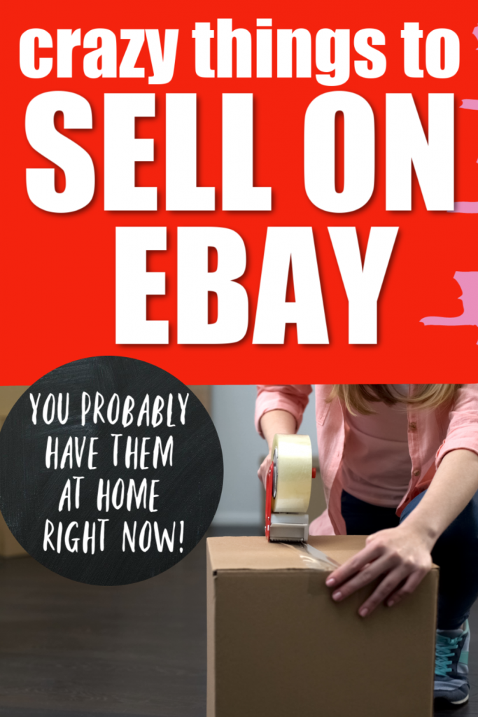 The Best Things To Sell On Ebay for Beginners, Things to sell that you have at home, declutter your house and sell on Ebay, easy, top, popular, odd, good, weird things to try selling on ebay, random products #ebay #sellonebay #makemoneyfromhome #ebaysellingtips #ebaysellingproducts #ebaysellingideas
