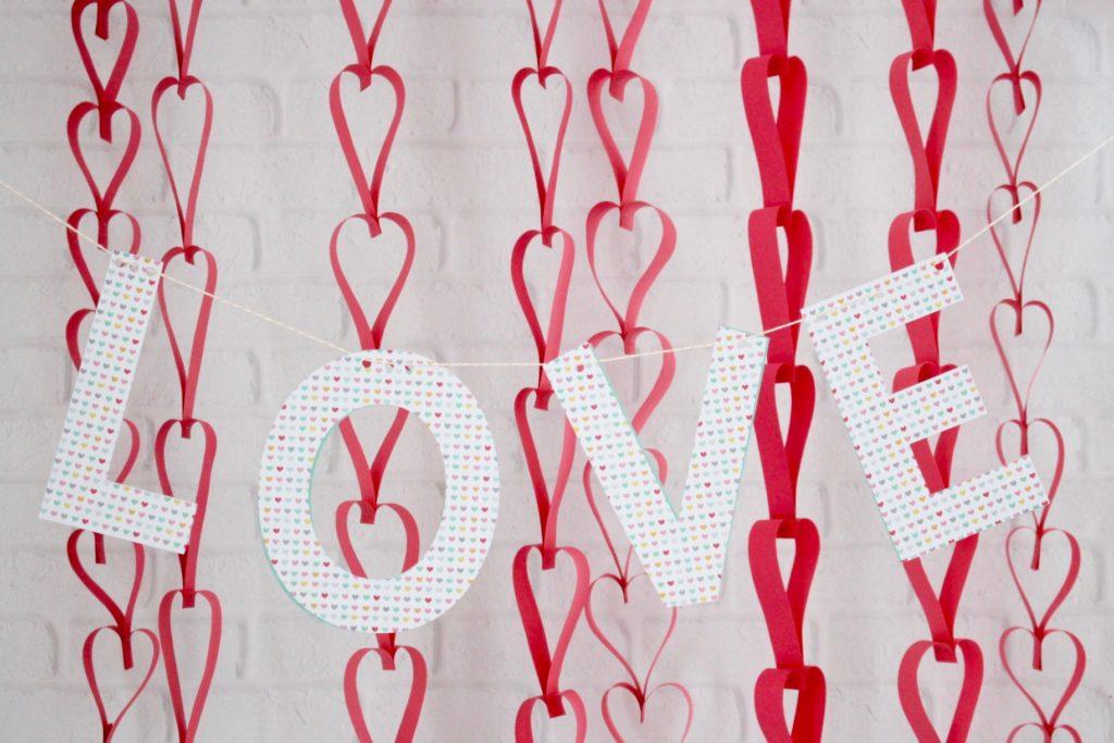 Cheap Valentine's Day decor