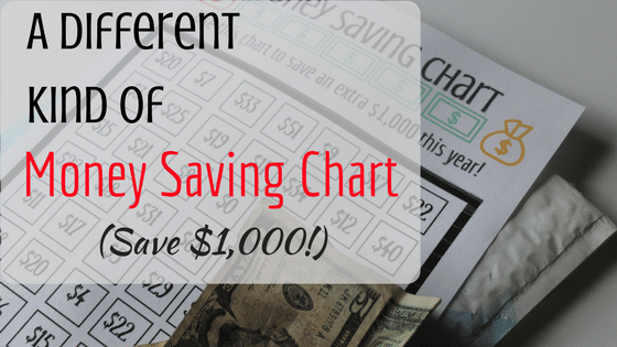 Finally...A Money Saving Chart Everyone Can Use