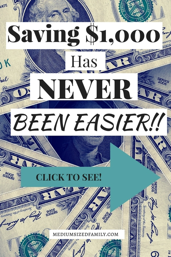 These awesome tips for saving $1,000 dollars in a year will make saving money easier than ever! Simple ideas for making extra cash work for you.This frugal living website has the answer for you!