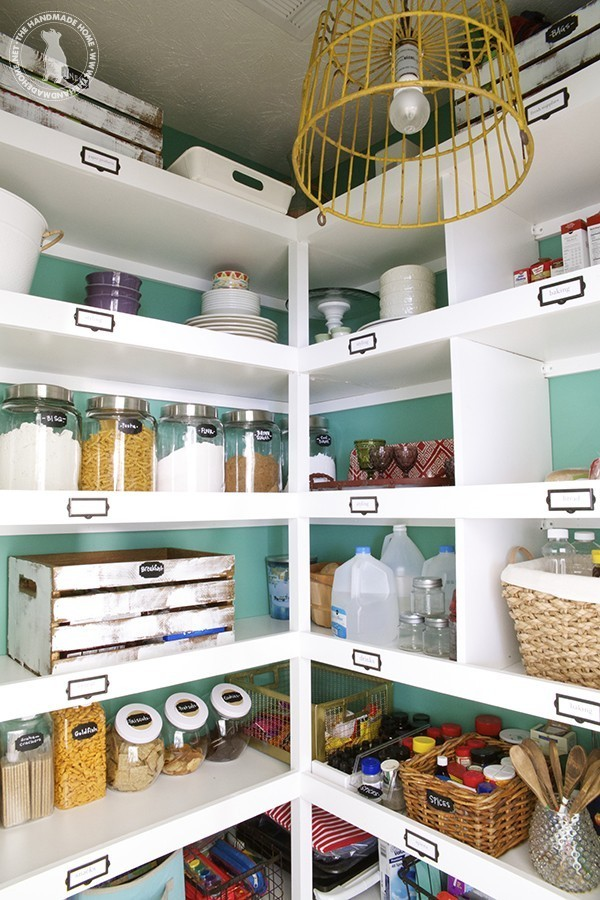 A pantry for a large family home