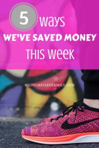 Ways to save money as a family