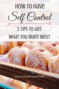 How to have self control when there are so many temptations out there! This gave me a lot of new ideas to think about when I'm tempted to buy something I don't really need.