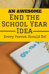 This awesome end of the school year idea will create a beautiful memory for your student that will last for years. For all ages!
